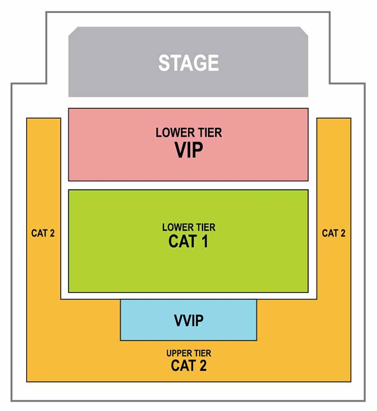 DEMI SEATING PLAN - KL LIVE CO