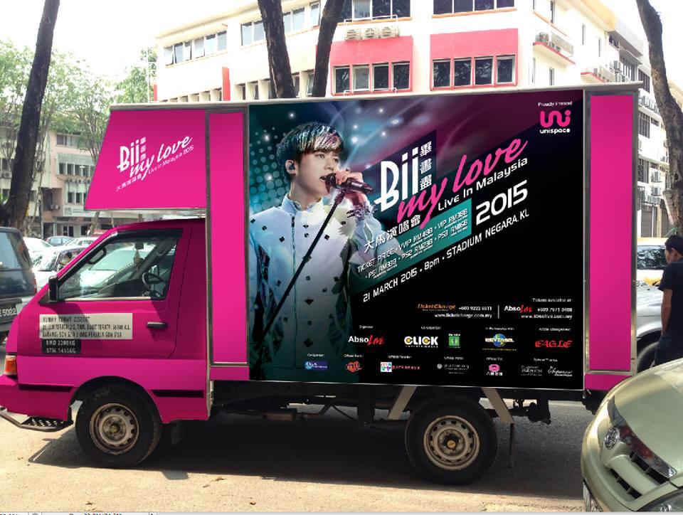 Bii My Love Live In Malaysia Roving Trucks