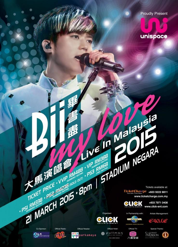 Bii My Love Live in Malaysia