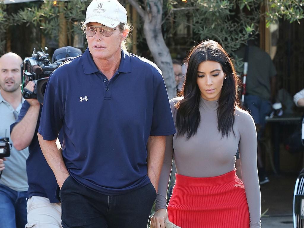 Bruce Jenner & Kim Kardashian