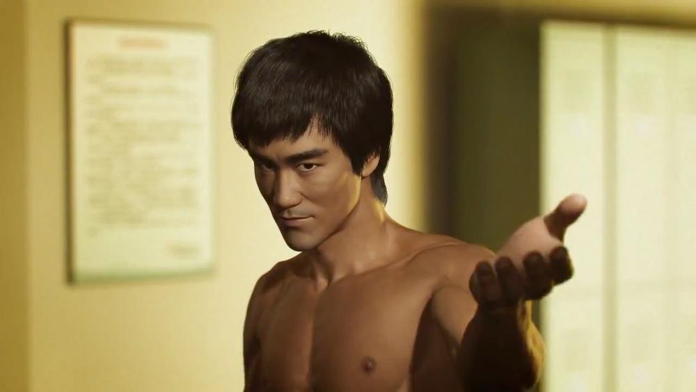 Bruce Lee CGI