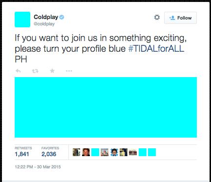 Coldplay TIDAL
