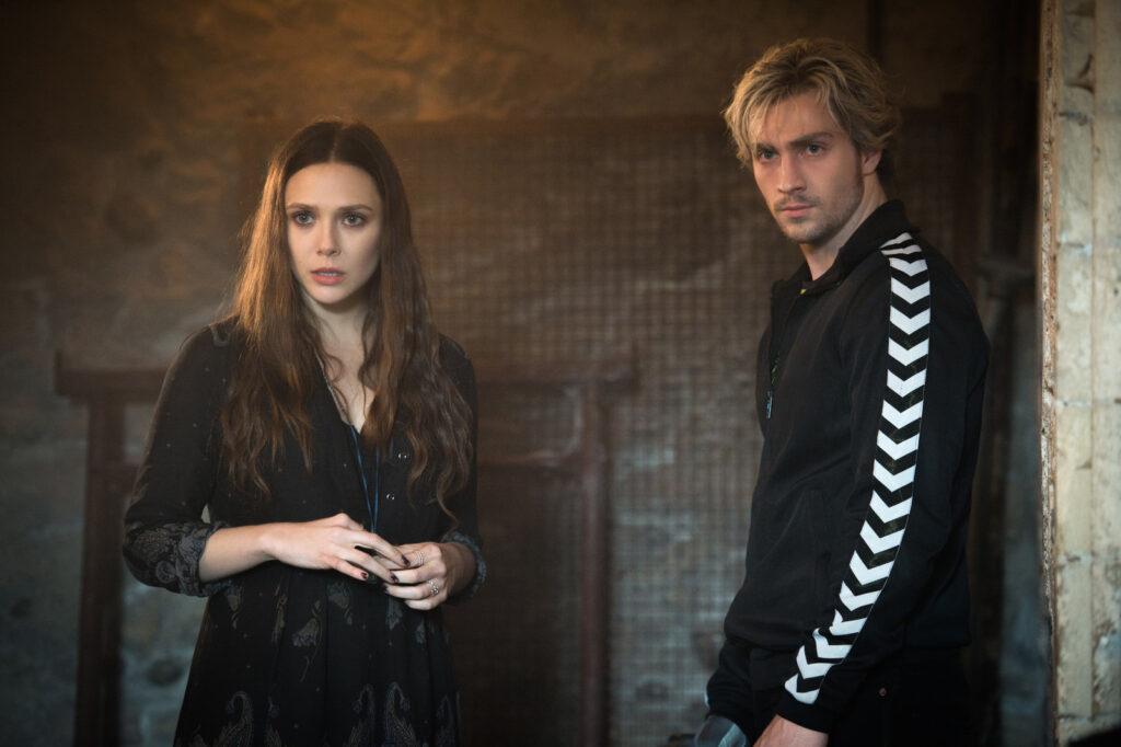 Elizabeth Olsen and Aaron Taylor Johnson