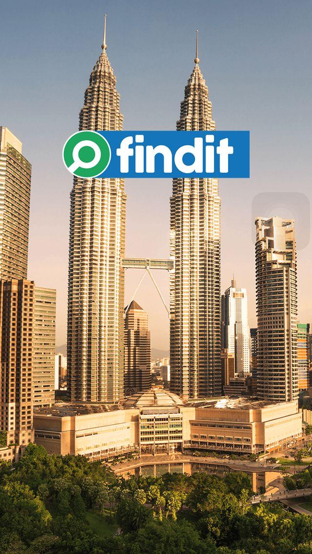 FINDIT Mobile Application - landing page