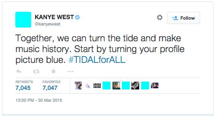 Kanye West TIDAL