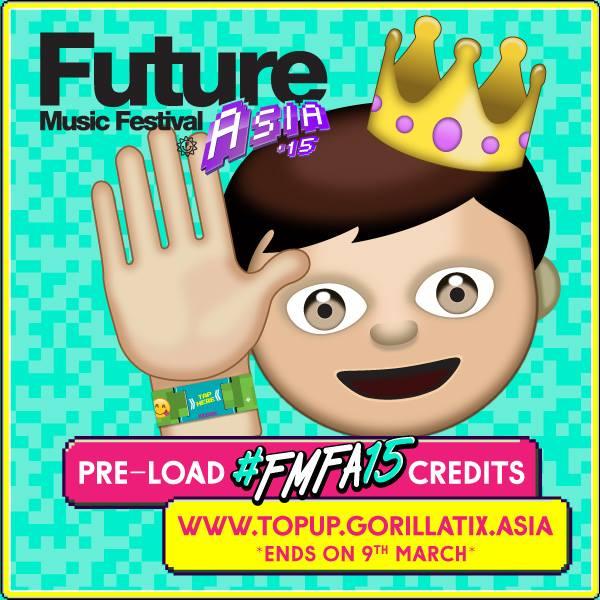 Preload FMFA15 RFID Wristband Credit