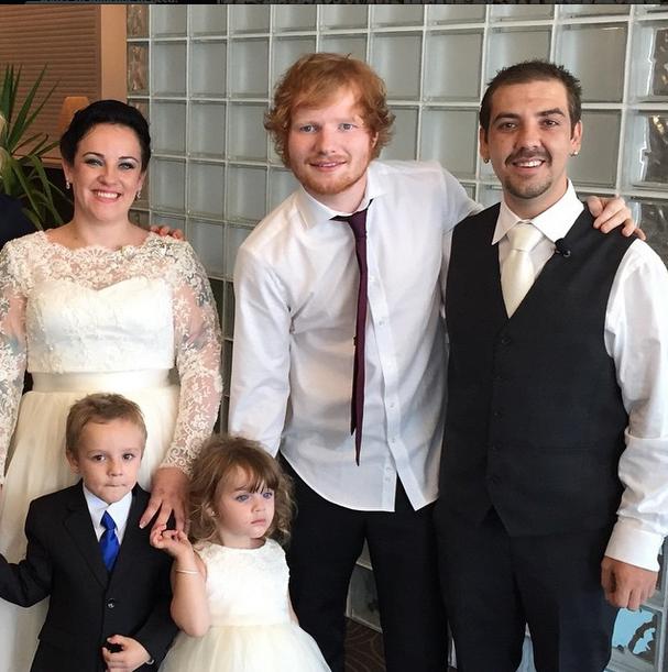Ed Sheeran Crashes Wedding, Surprises Newlyweds