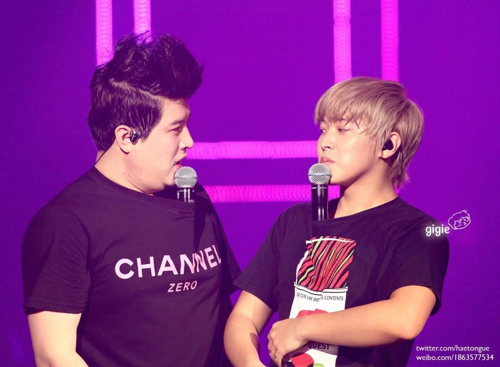 Super Junior Shindong & Sungmin