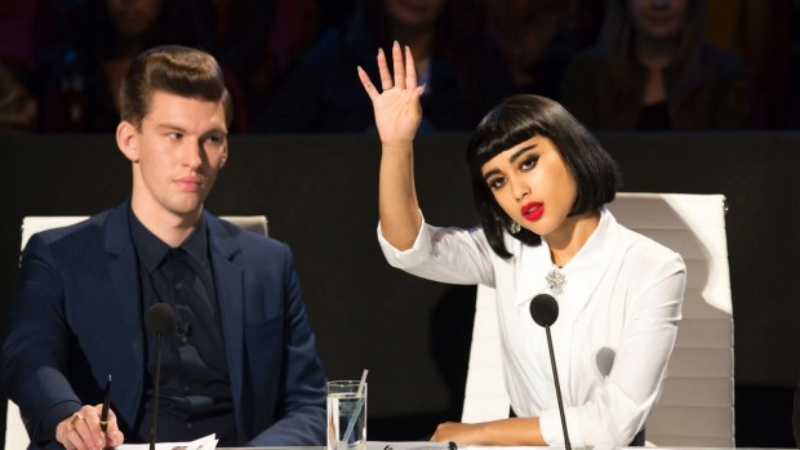 X Factor NZ Natalia Kills and Willy Moon