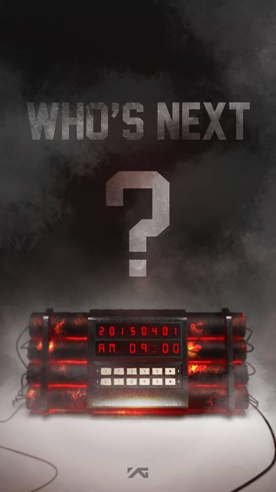 YG Who's Next 1st April 9am