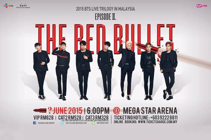 "2015 BTS LIVE TRIOLOGY IN MALAYSIA ""EPISODE II.THE RED BULLET"""