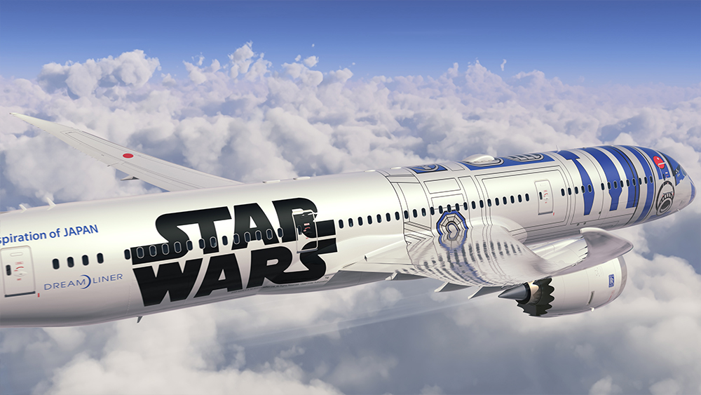 ANA Star Wars Dreamliner