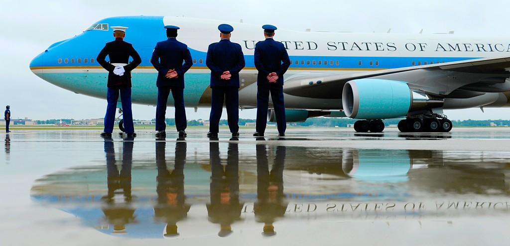 Barack Obama, Air Force One