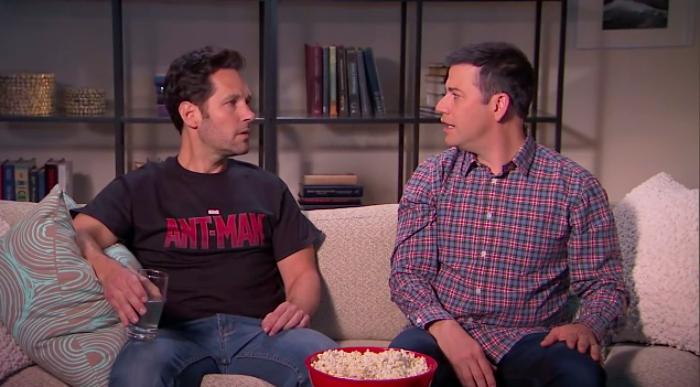 Ant-Man Paul Rudd On Jimmy Kimmel Live