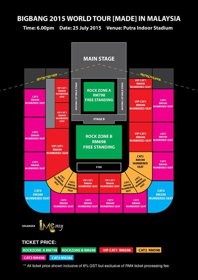 BIGBANG 2015 World Tour MADE in Malaysia