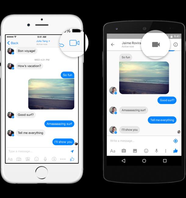 FB Messenger Video Calling