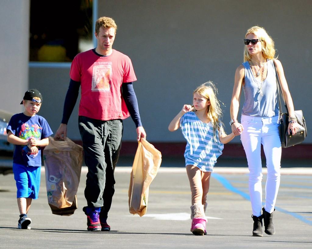 Gwyneth Paltrow Chris Martin Kids