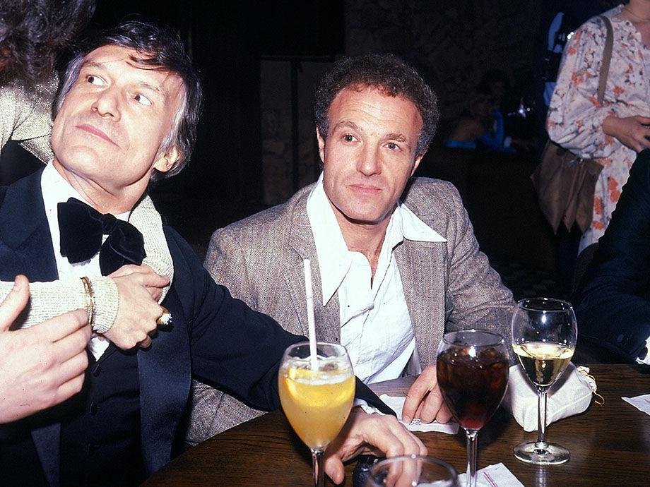 Hugh Hefner And James Caan