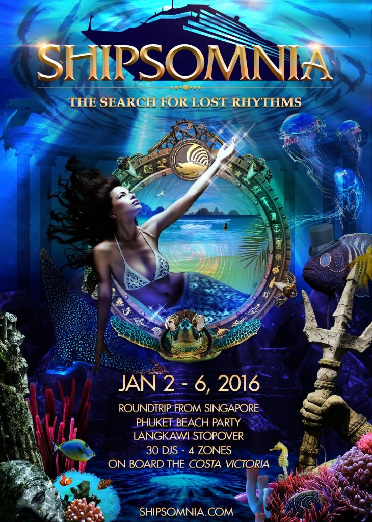 Shipsomnia Mythical Poster