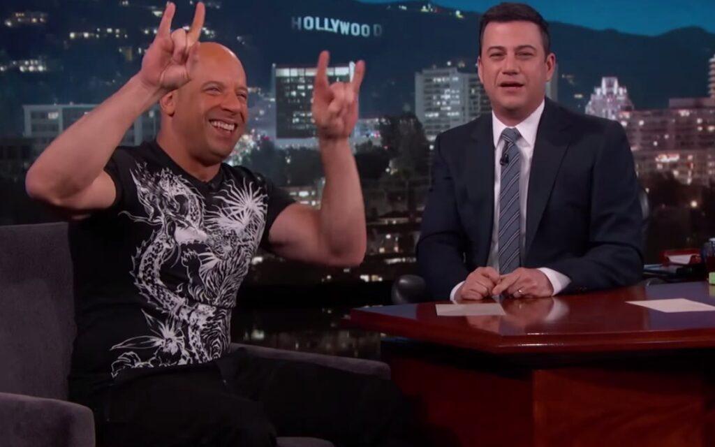 Vin Diesel Jimmy Kimmel