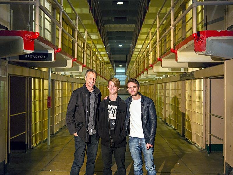 Zedd Tony Hawk Alcatraz