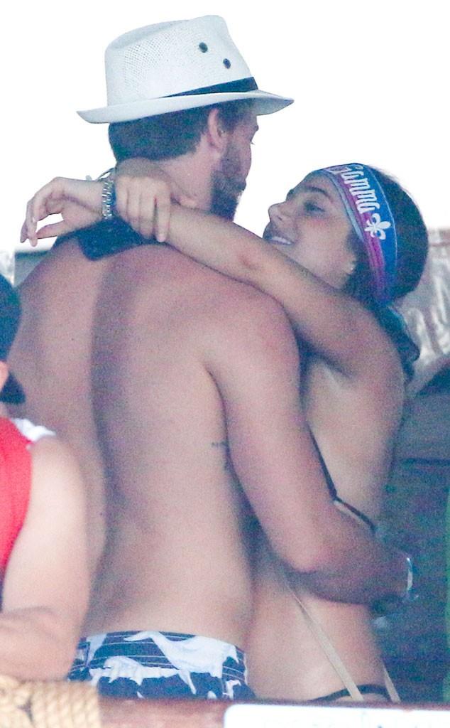 Patrick Schwarzenegger spotted hugging another girl