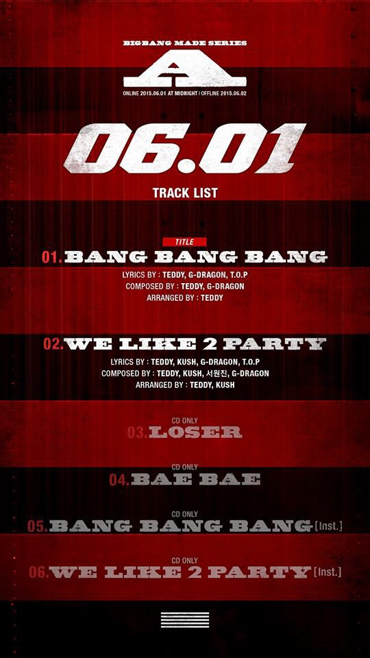 BIGBANG Made Series A