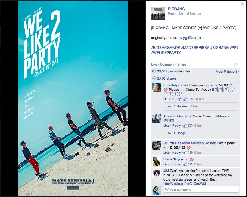 BIGBANG We Like To Party
