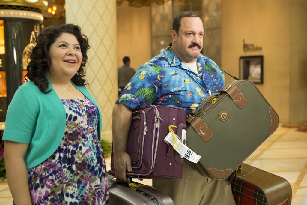 Raini Rodriguez;Kevin James paul blart mall cop 2