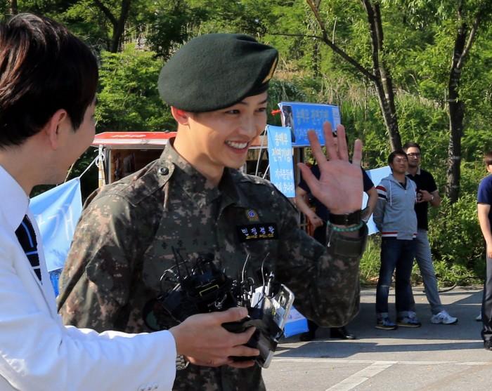 Song Joongki Military Service