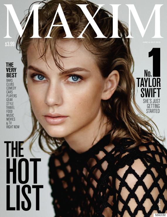 Taylor Swift Maxim Hot List 2015