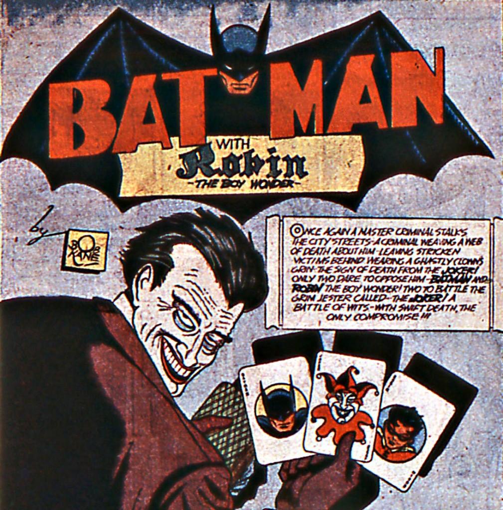 The Joker Batman 1