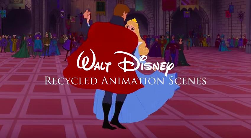 Walt Disney Recycled Animation