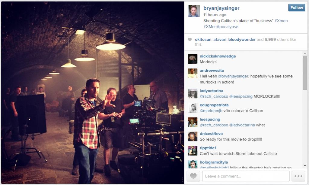 Source: Bryan Singer's Instagram