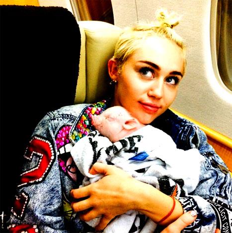 Source: Miley Cyrus - Instagram