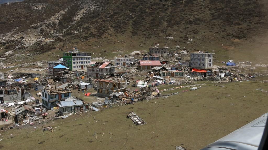 Aftershock Disaster in Nepal 1