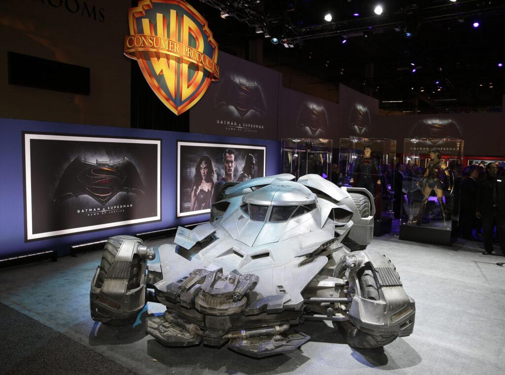 BatmanvSuperman Batmobile