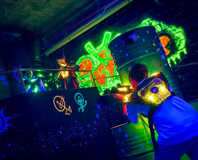 Galactic Laser Tag