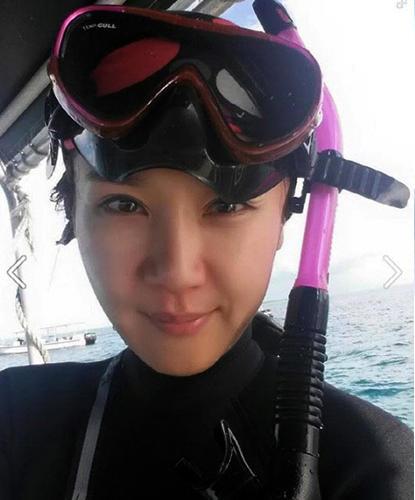 Jung In Ah Scuba Diving