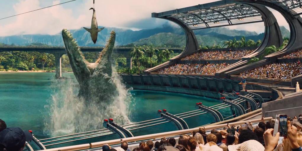 Jurassic World Mososaurus