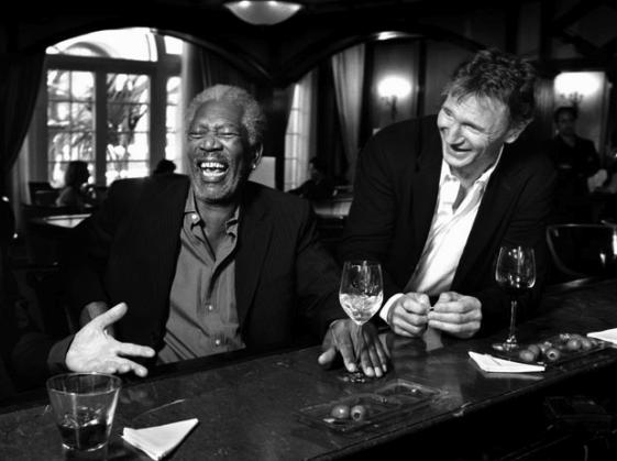 Morgan Freeman Liam Neeson Ted 2