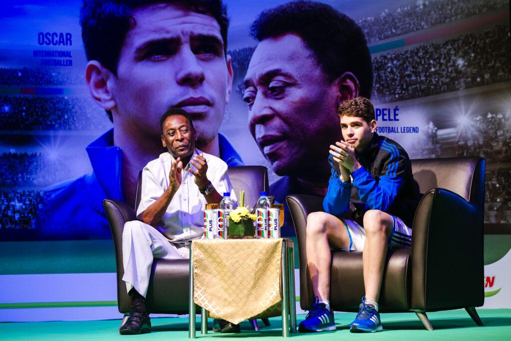 Pelé and Oscar