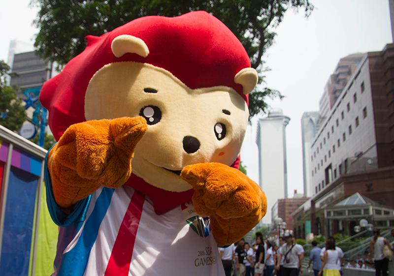 Nila, the 28th SEA Games mascot (Source: 28th SEA Games' website)