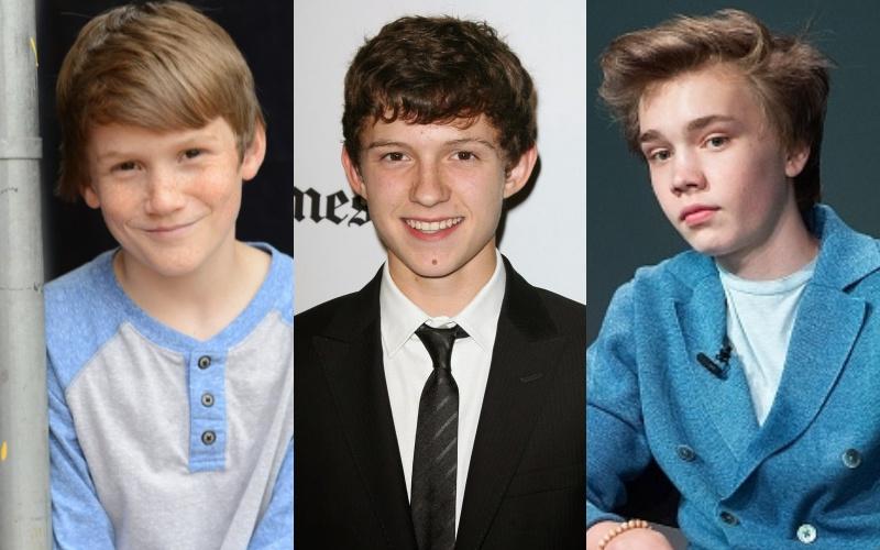 Spider Man Contenders - Matthew Lintz, Tom Holland, Charlie Plummer