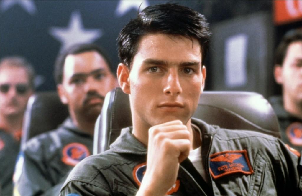 Top Gun as Lieutenant Pete Maverick Mitchell