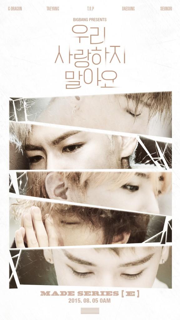 BIGBANG MADE Series E 5th Augusut