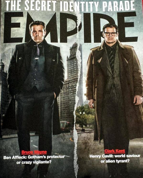 Batman v Superman- Dawn of Justice - Empire Magazine Cover