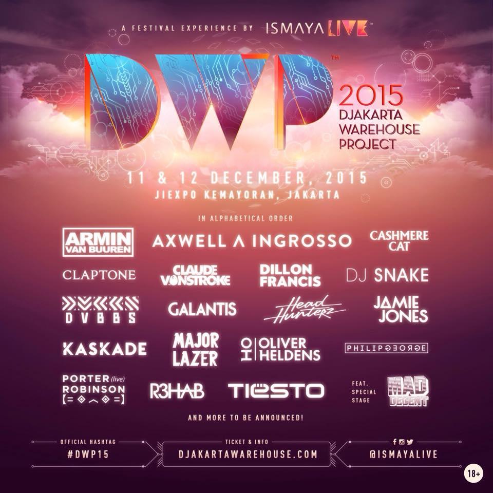 DWP 2015 Line Up