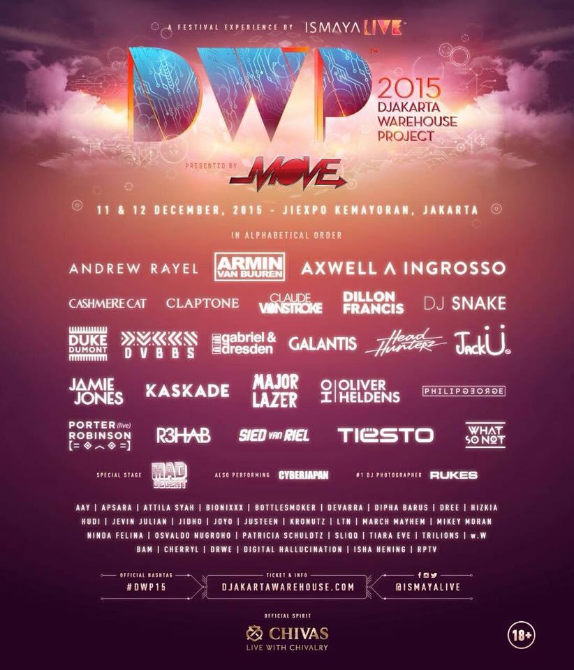DWP 2015 Lineup