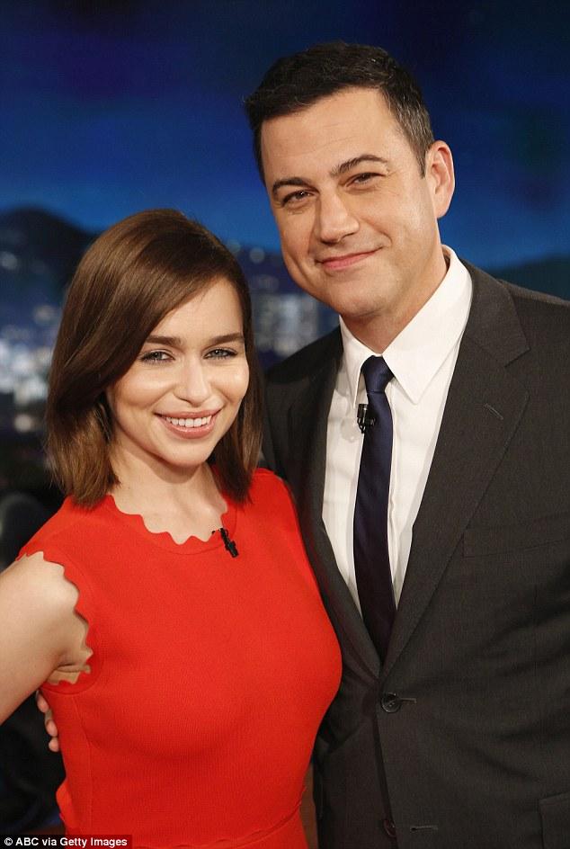 Emilia Clarke Jimmy Kimmel Live